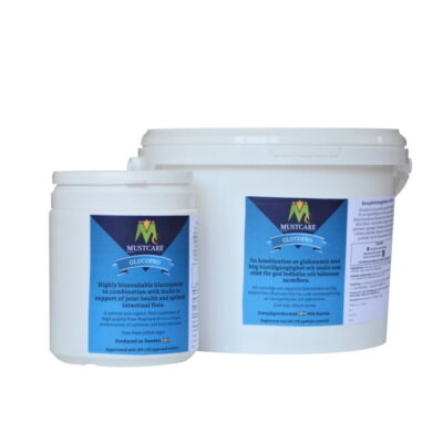 Bioavaliable glucosamine for horses