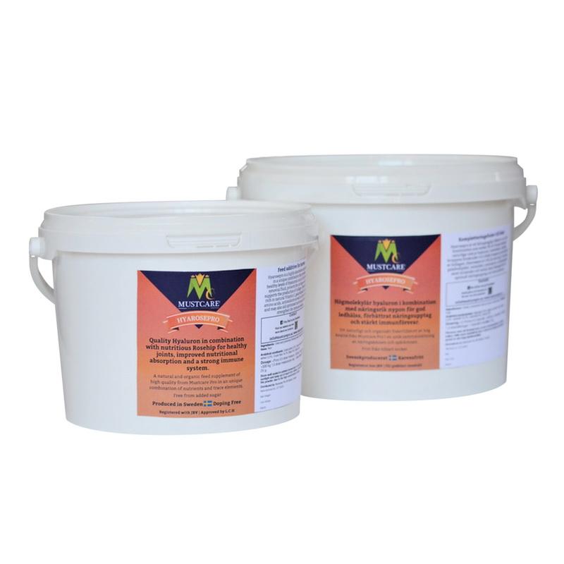 Hyarsopro Rosehip and Hyaluronic acid for horses